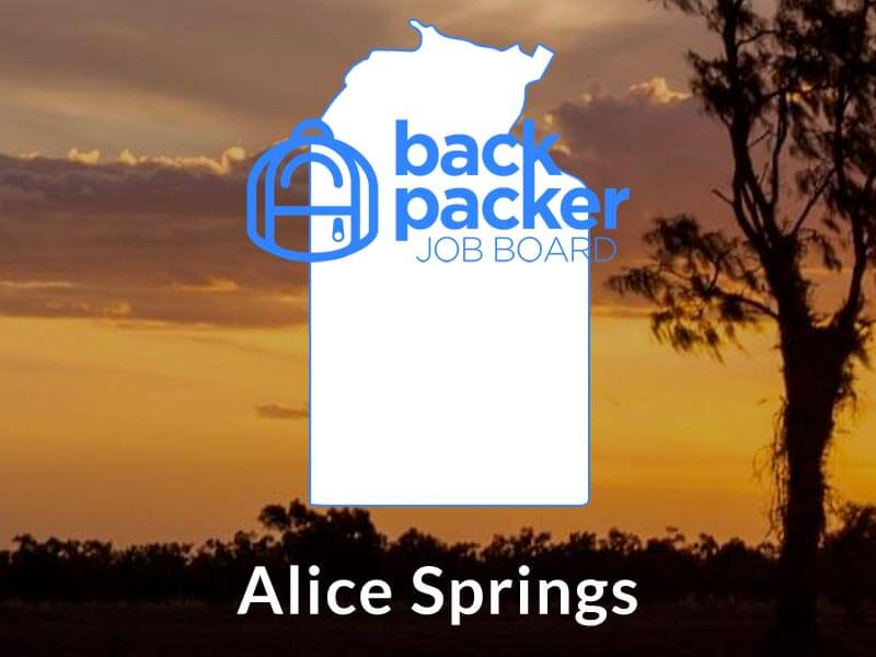 Jobs in Alice Springs