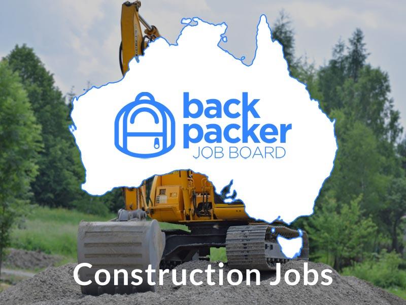 Construction Jobs Australia for backpackers | Backpacker Job