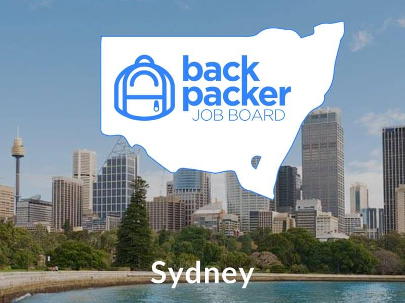 Backpacker jobs sydney find jobs in sydney jobs in sydney ccuart Images