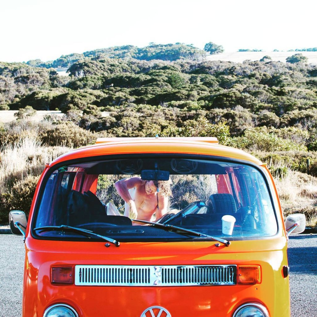 Road trip Australia backpackers kombi australia visitaustralia queensland