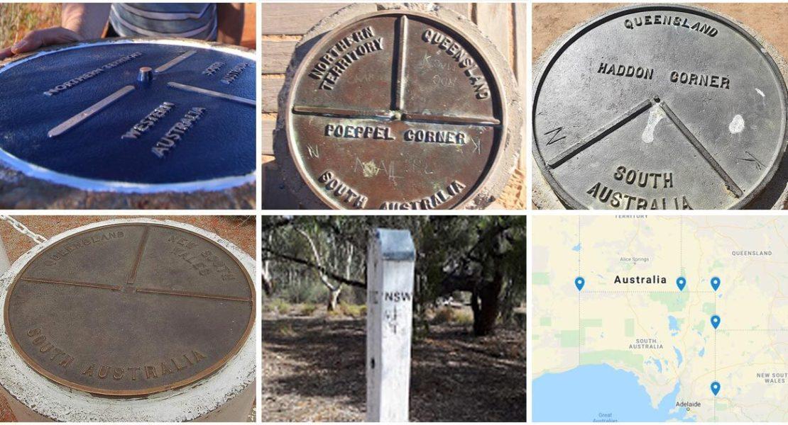 "The 5 ""Border Corners"" of Australia"