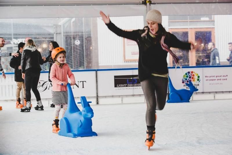Event Casuals - Temporary Ice Skating Rink - Dfo Cairns