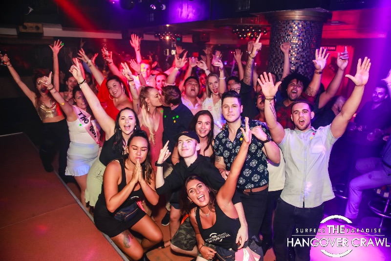 *female* Party Reps - Club Crawl - Surfers Paradise