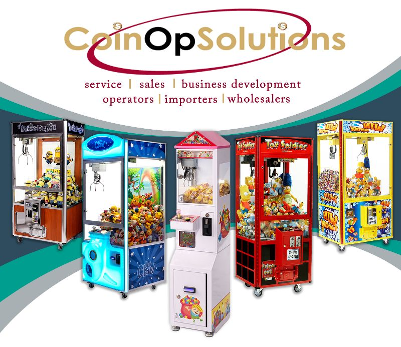 Amusement Machine Merchandiser - Sydney