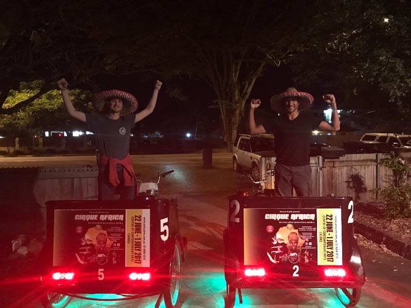 Pedicab Riders Wanted Asap