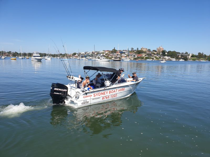 Boat Hire Work On Sydney Harbour