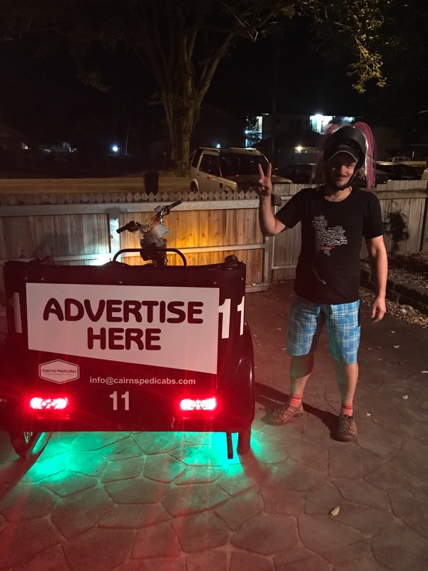 Pedicab Riders Wanted Cairns