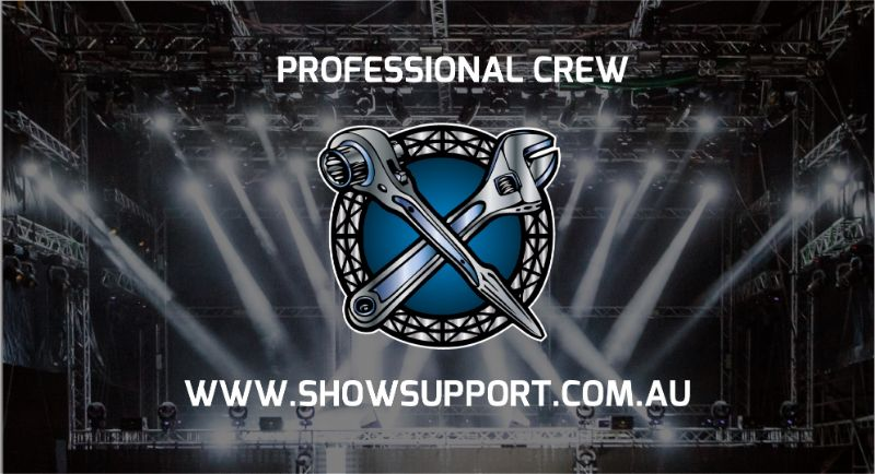Audio Visual And Event Support Crew