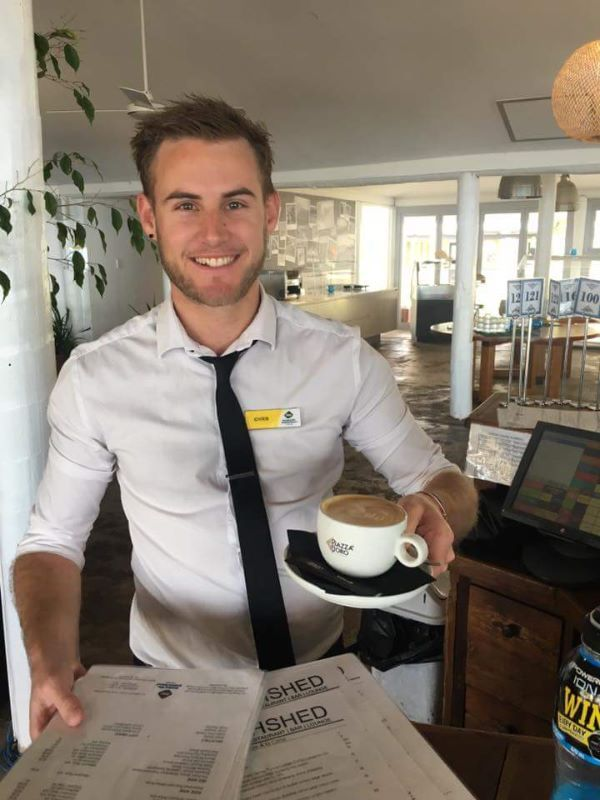 Live And Work On Paradise Resort - Restaurant Staff