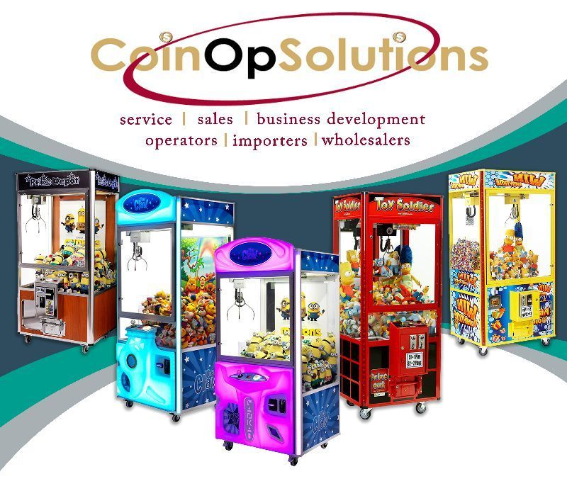 Amusement Machine Merchandiser - Brisbane