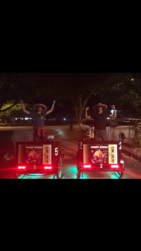 Pedicab Riders Get Fit Earn Money
