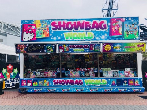 Selling Showbags Australian Show Circuit