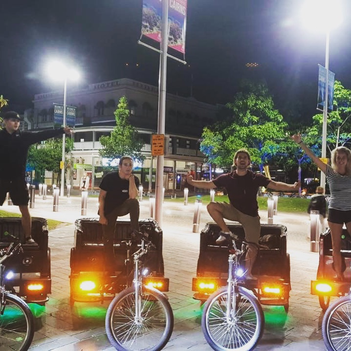 Pedicab Riders Wanted