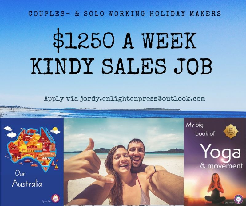 Roadtrip & Sales: From Brisbane To Cairns $1250 A Week. Couples Also Welcome