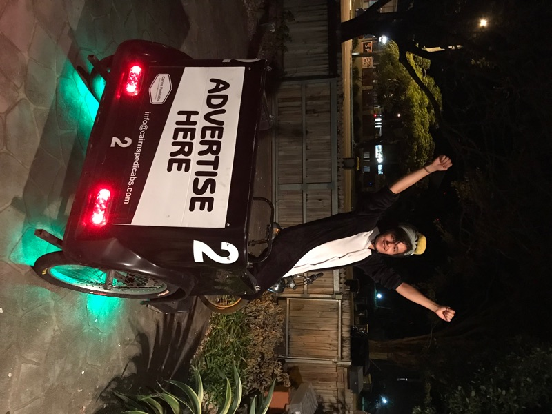 Pedicab Riders Wanted!! Get Fit Earn Money!