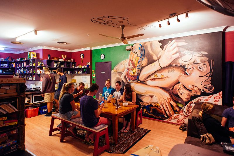 Want To Work At A Funky Hostel Near The Beach