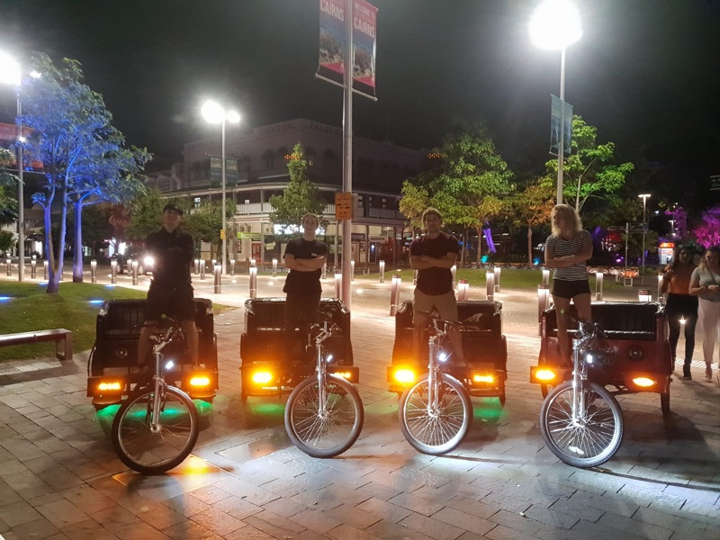 Pedicab Riders Wanted, Get Fit Earn Money