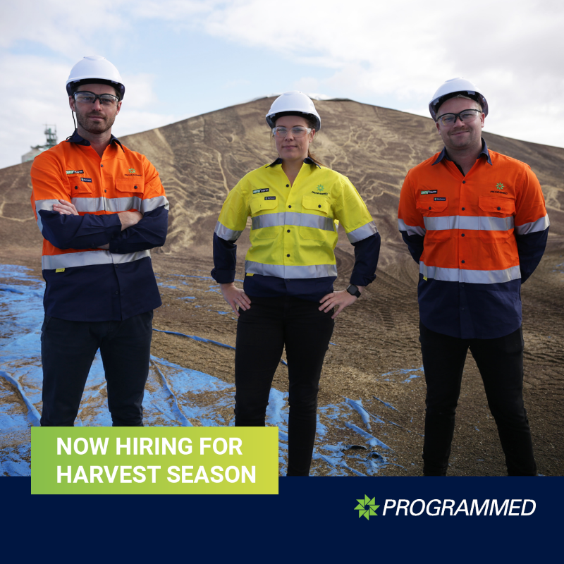 Harvest Season - Now Hiring In Victoria