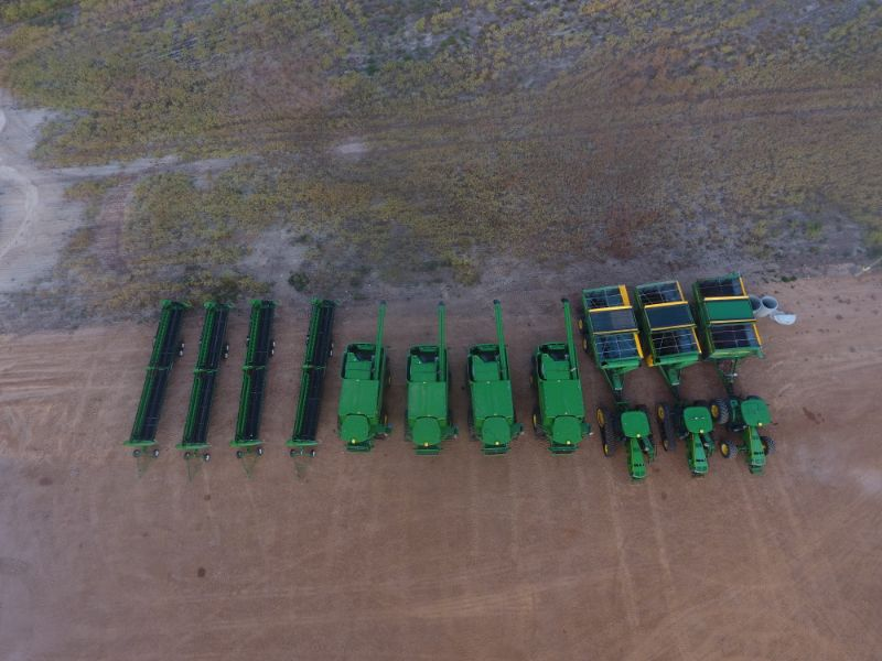Harvest 2020- Chaser Bin And Header Drivers