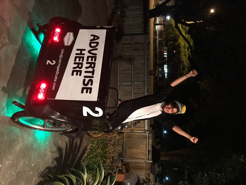 Pedicab Riders Wanted Get Fit Earn Money