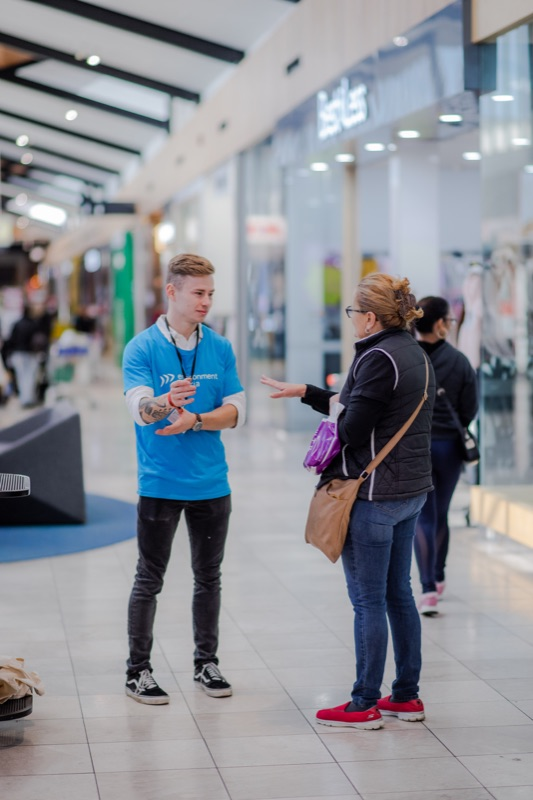 Shopping Centre Kiosk Sales-37.5 Hours A Week (hourly Rate)
