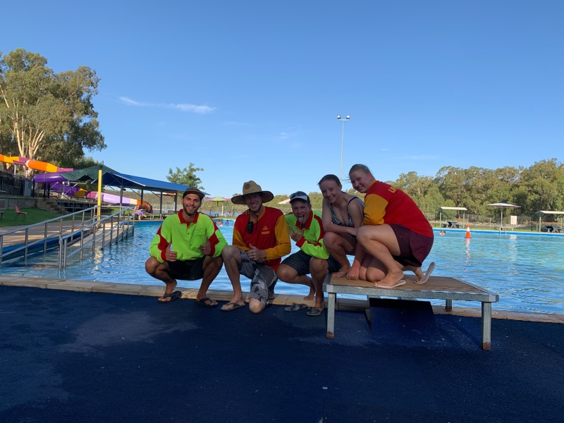 Swimming Pool Assistants Required