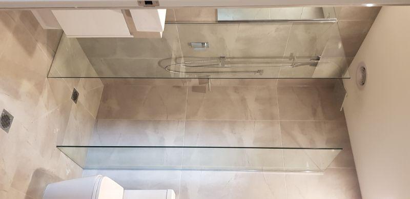 Shower Screen Installations - Semi Frameless &/or Frameless