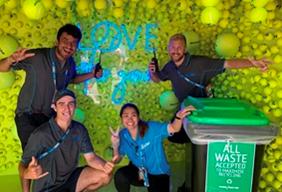Australian Open 2021 > Event Cleaner
