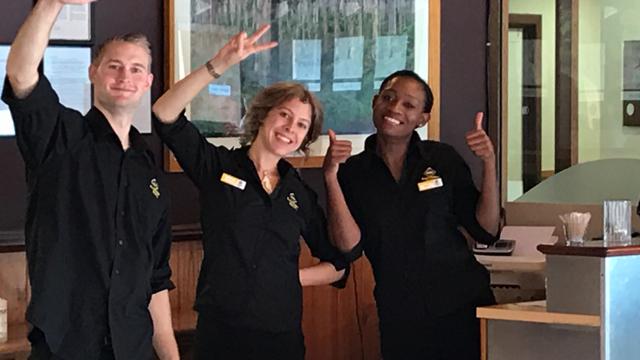 Restaurant & Front Office Service Staff