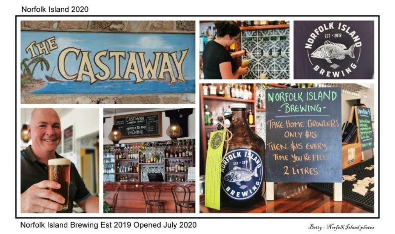 Food And Beverage Attendant On Beautiful Norfolk Island