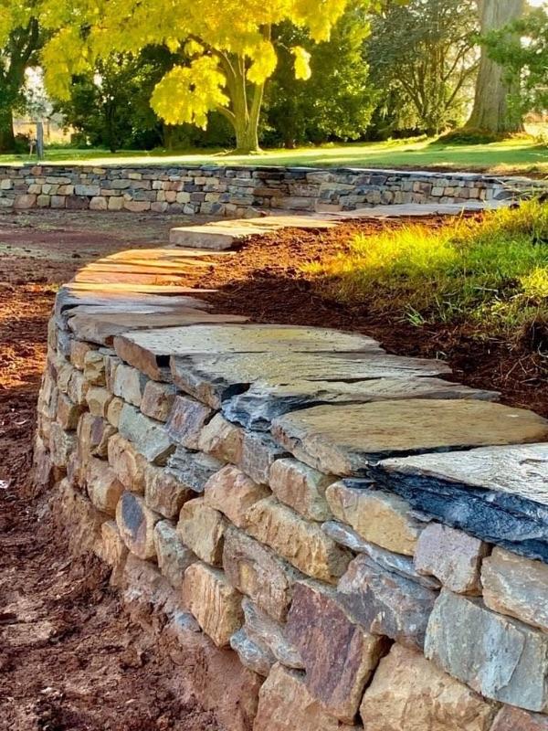 Labourer Dry Stone Walls