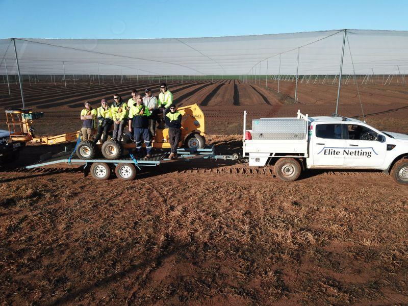 Farm Construction Labourer - Crop Protection Structures
