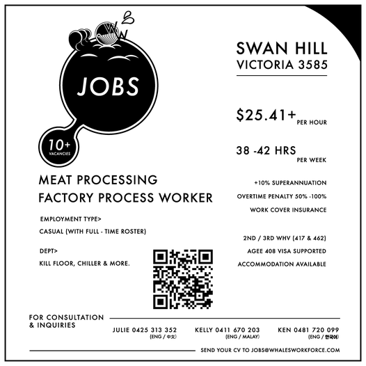 Meat Processing Job