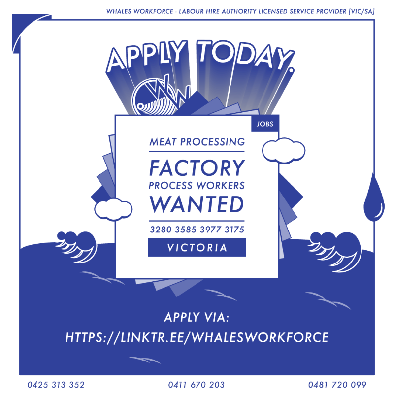 Meat Process Worker / $27.41 Per Hour