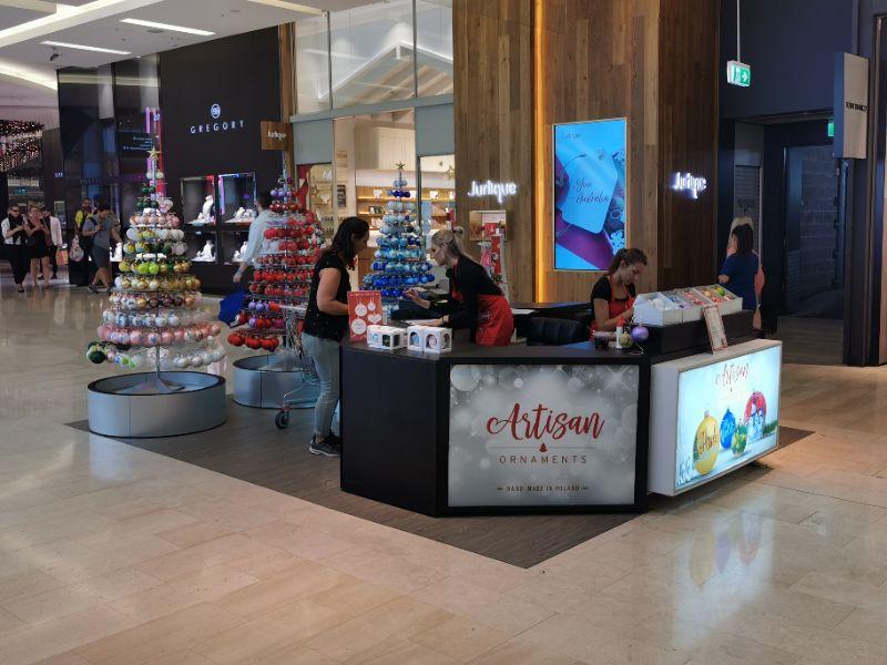 Artistic Retail Job Various Shopping Centres