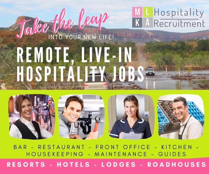 Duty Manager-hotel Venue-spectacular Kimberley Region-remote Western Australi