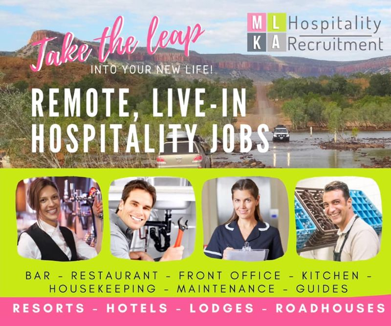 F&b / Housekeeping / All-rounders-remote Western Australia-spectacular Kimberley Region