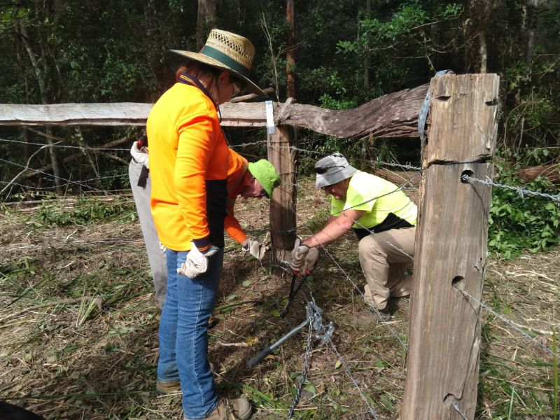 Fencing & Camp Support & Flood Recovery