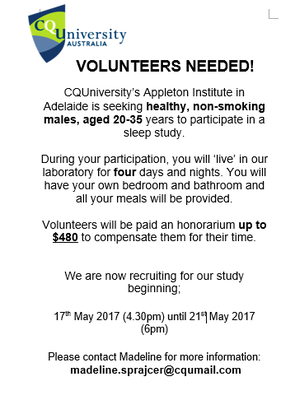 Volunteers Wanted For Sleep Study - $480 Compensation